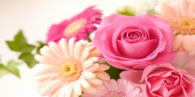 幸せ色の花束