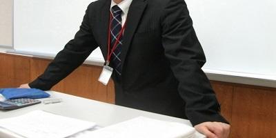教壇の先生
