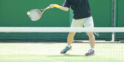 テニスストローク